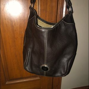 🌸VINTAGE LEATHER DOONEY&BOURKE HOBO🌸